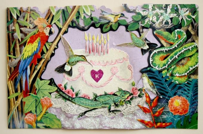 a little birthday card for a dear friend