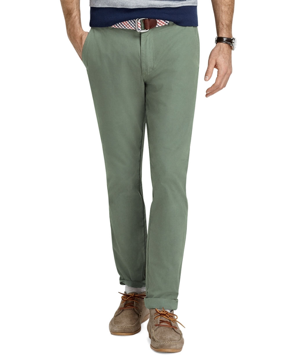 Slim-fit Chino by Brooks Brothers