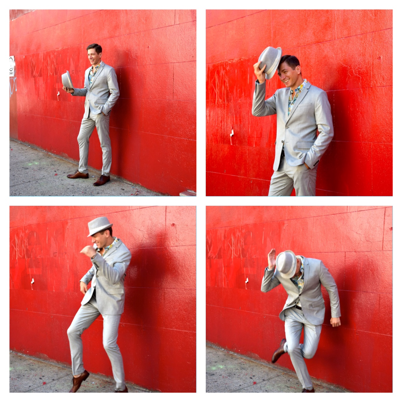 Oh yeah, did I mention we had fun on this photo shoot. The boy can dance!