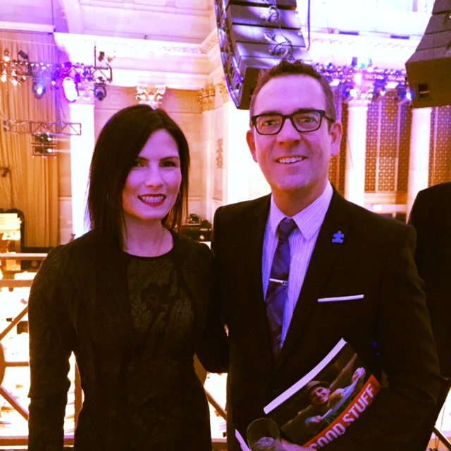 Me and Ted Allen