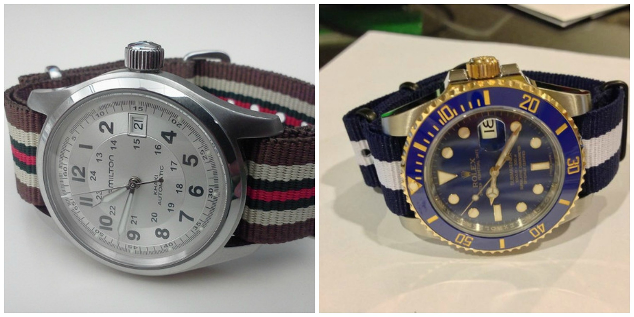 Nato Straps  on Classic Watches
