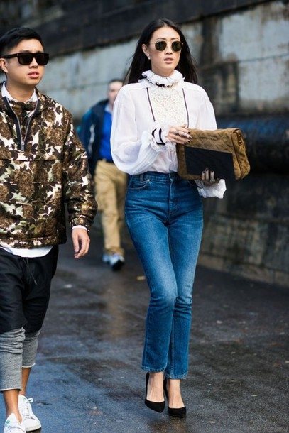 4wvtes-l-610x610-shirt-ruffle+shirt-white+shirt-puffed+sleeves-ruffle-long+sleeves-denim-jeans-blue+jeans-cropped+bootcut+jeans-cropped+bootcut+blue+jeans-cropped+jeans-pointed+toe+pumps-pumps.jpg