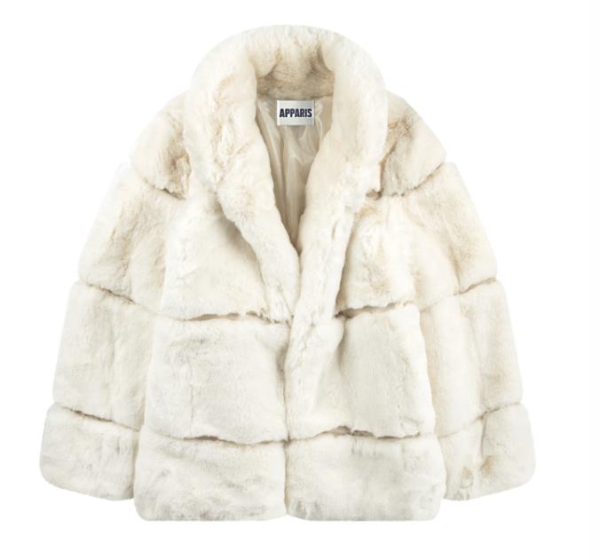 Apparais Faux Fur Coat $260