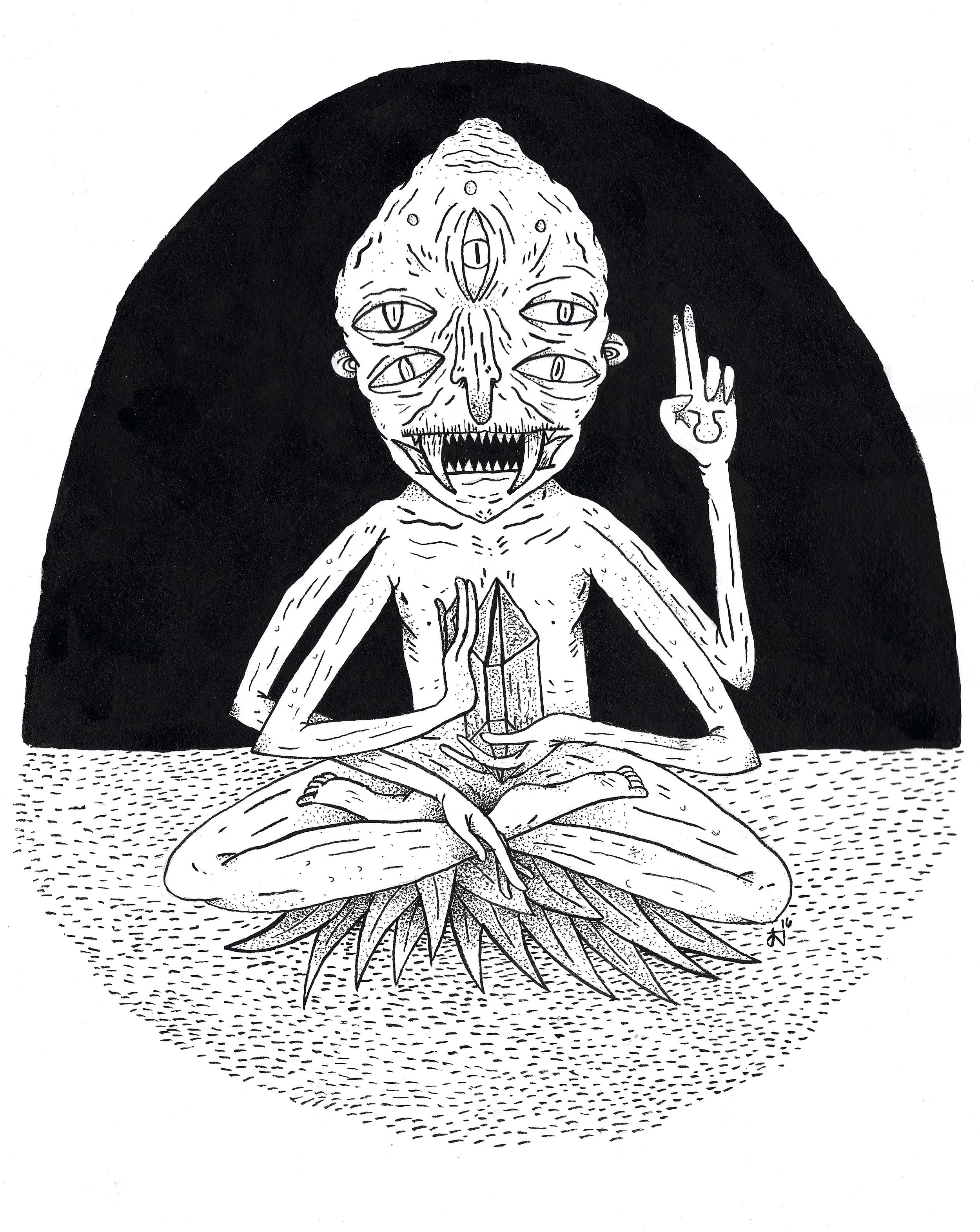 Crystal Meditator - The Original