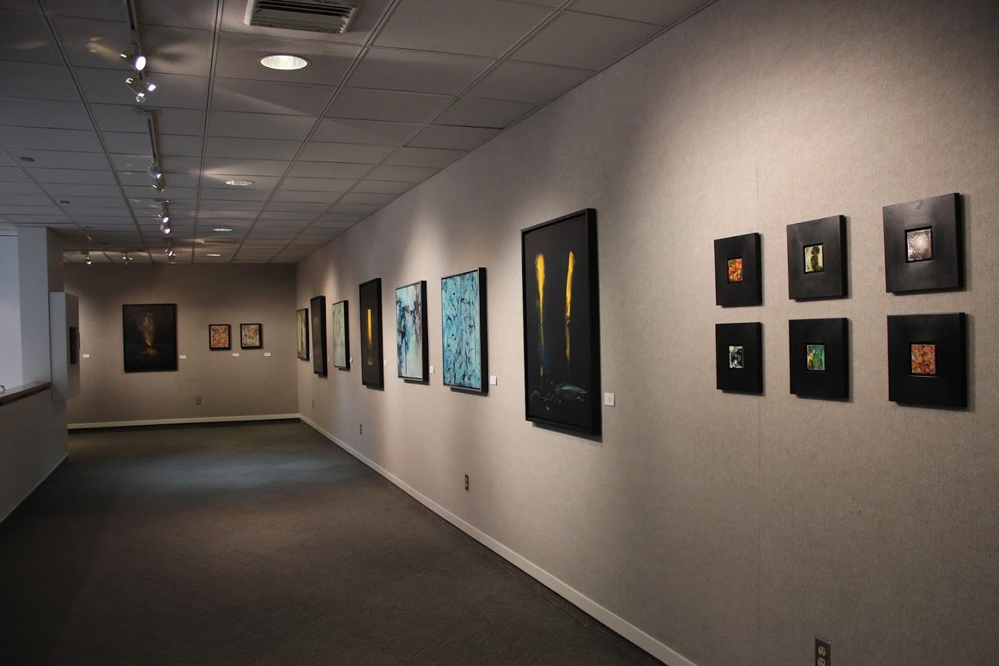 Northwestern State University, Orville Hanchey Gallery ,   Luminescence,   with  Tony McDonald , Natchitoches, LA. 1/8/15 - 1/29/15.