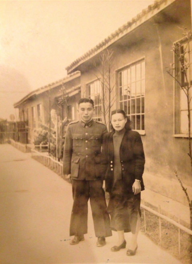 My Po-Po and Gong-Gong looking dapper post-Cultural Revolution.