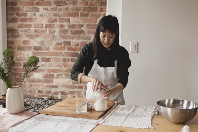 Wannabe baker. Photo by  Yudi Ela .