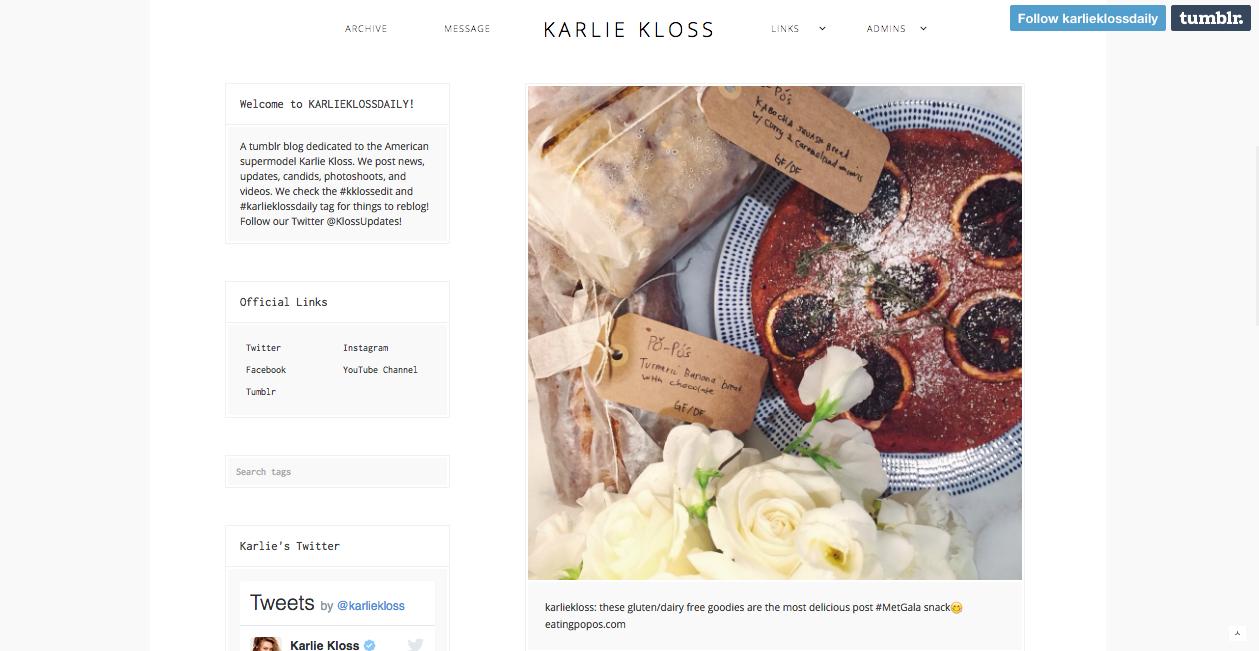 Karlie Kloss, May 2016