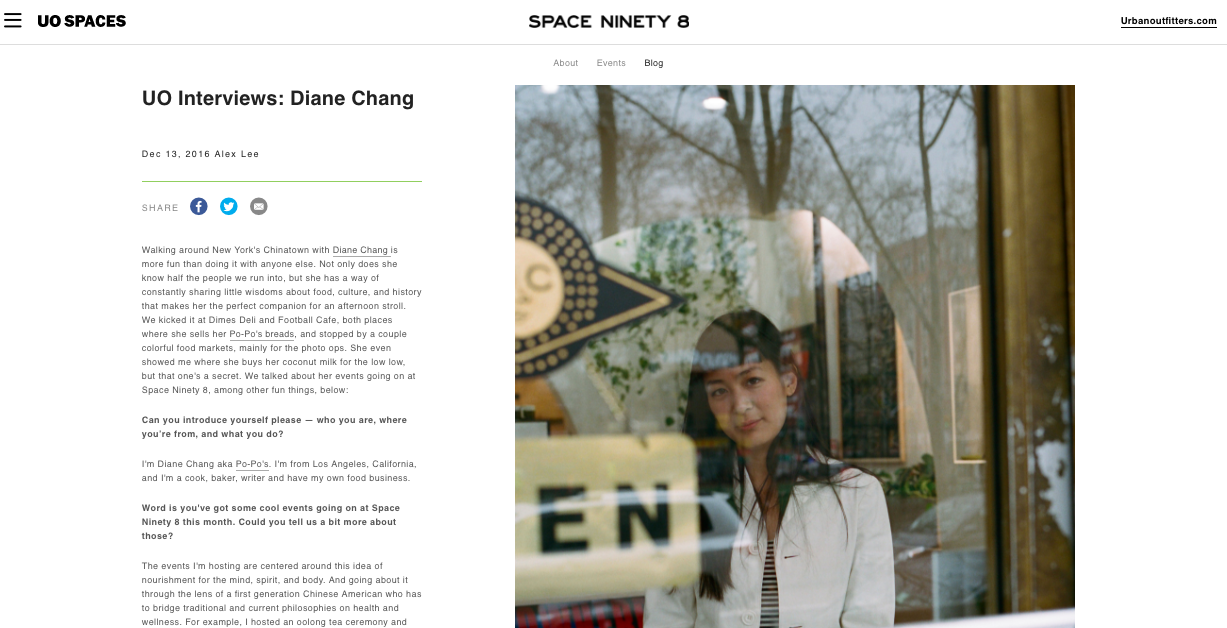Urban Outfitters Space 98 Blog , December 2016