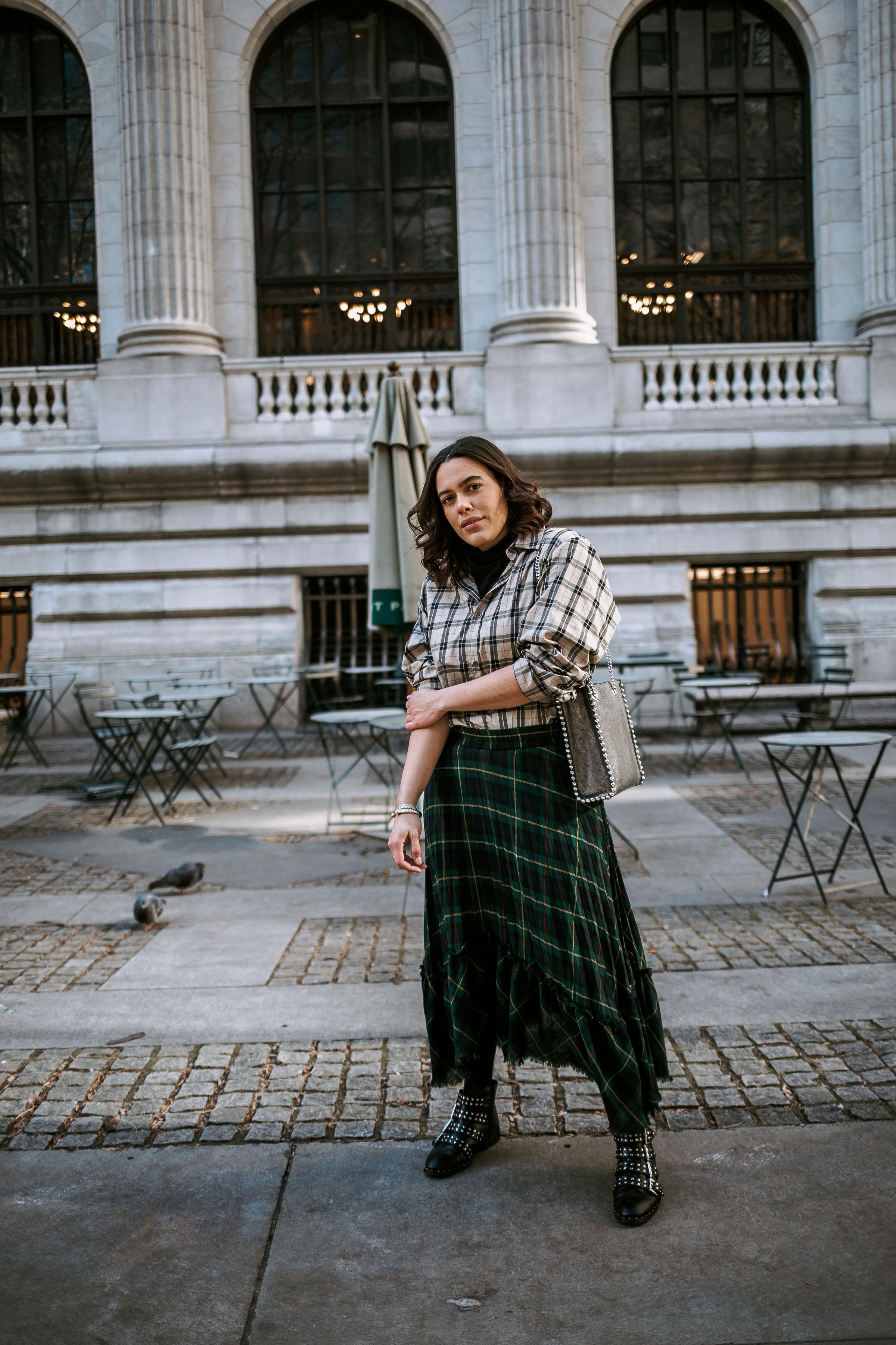 how-to-style-plaid-on-plaid-zara-plaid-skirt-studded-boots-givenchy-dupe-latina-new-york-city-fashion-blogger-style-operator-winter-fashion.jpg