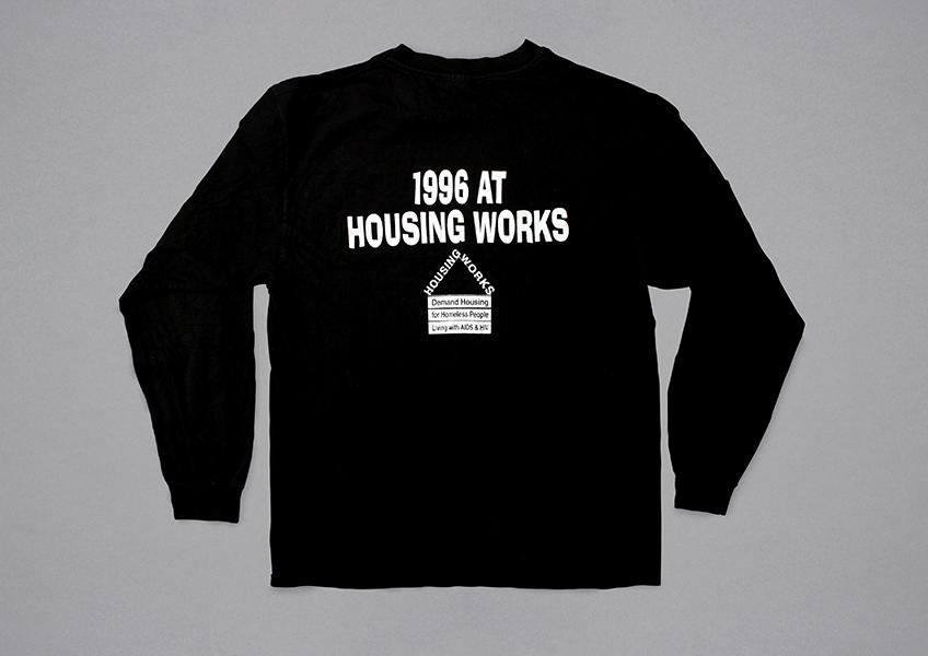Back of the 1996 sweatshirt.