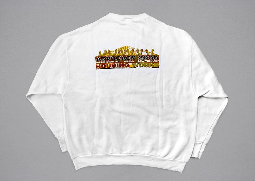 A sweatshirt from 2000.