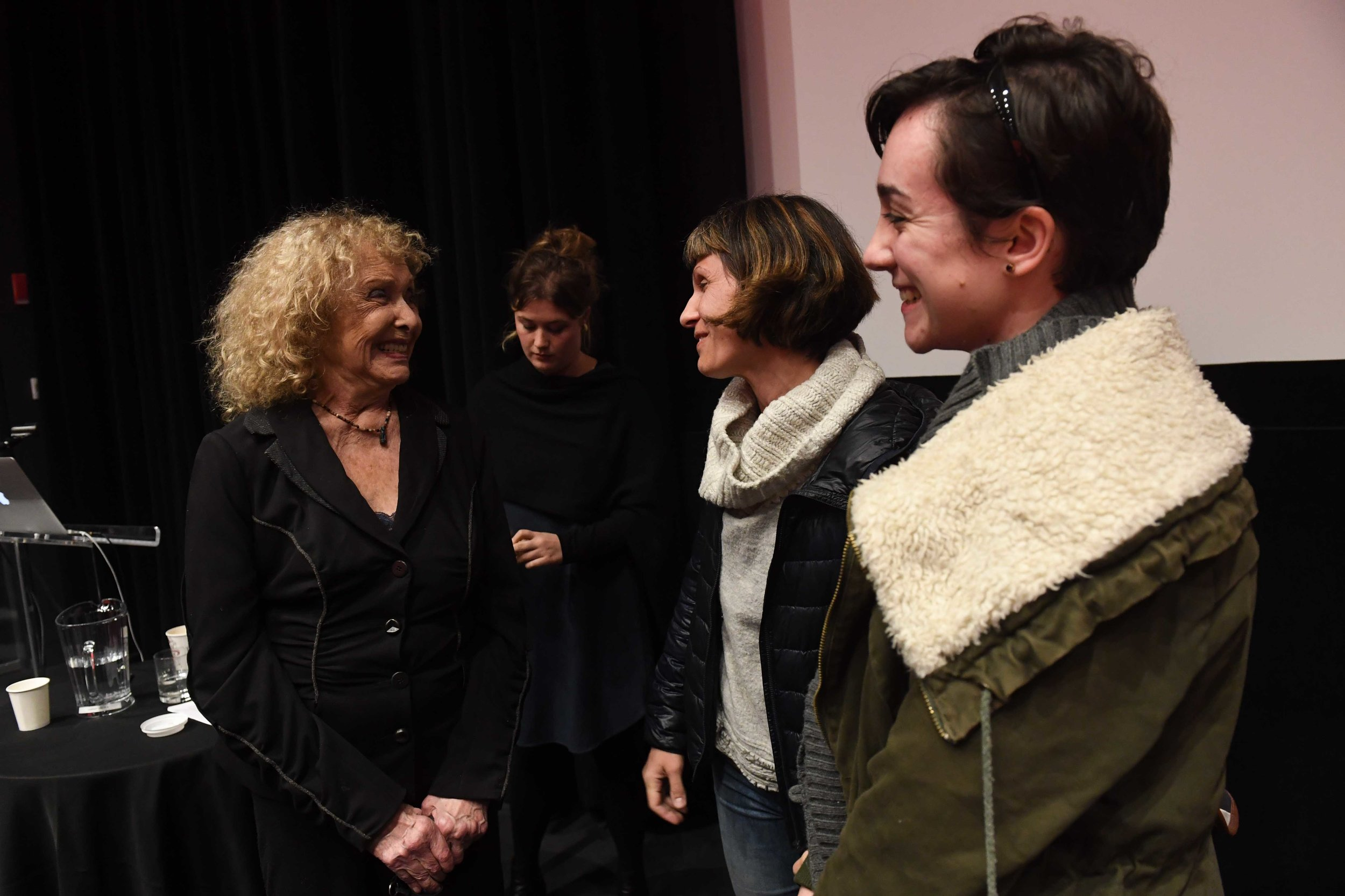 Carolee Schneemann and guests, November 9, 2017,  Lenfest Center for the Arts