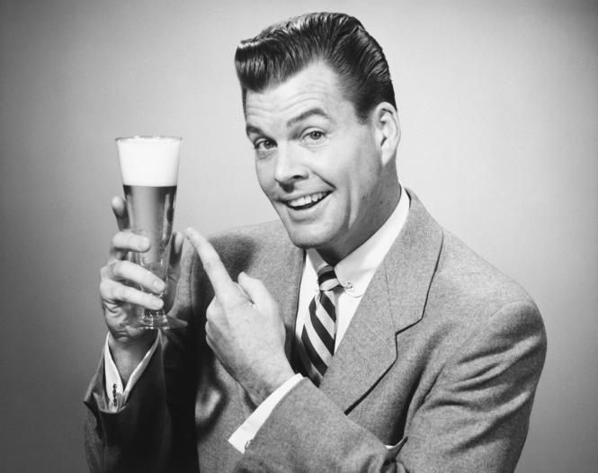 Cheers-B&WofManInSuiteWithBeer.jpg