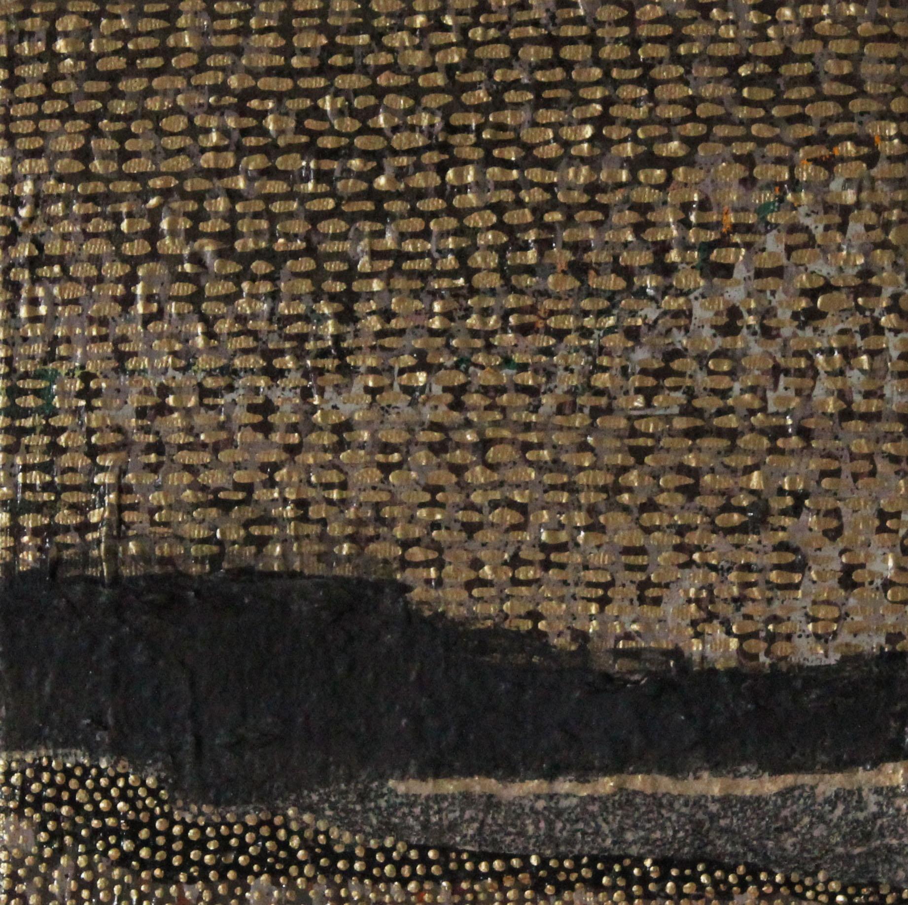 "Untitled ,  8 x 8"", acrylic paint on canvas, 2014"