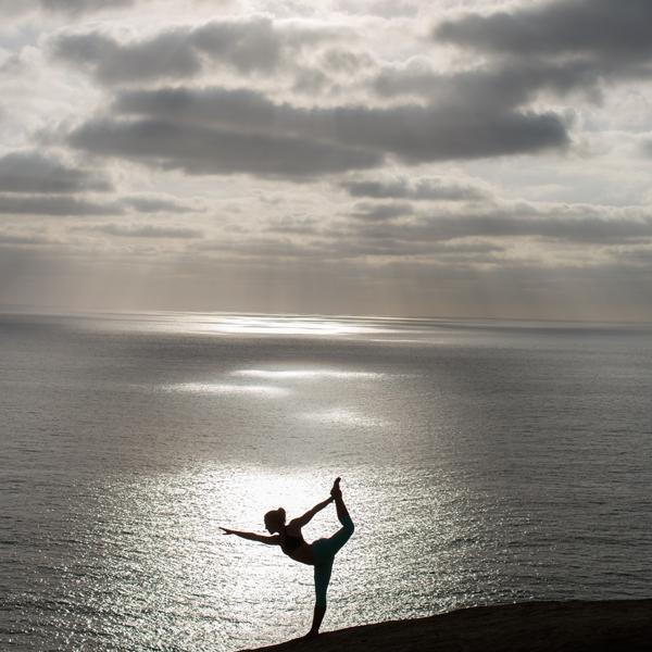 Dancer's on the edge