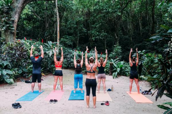 Morning Rainforest Yoga