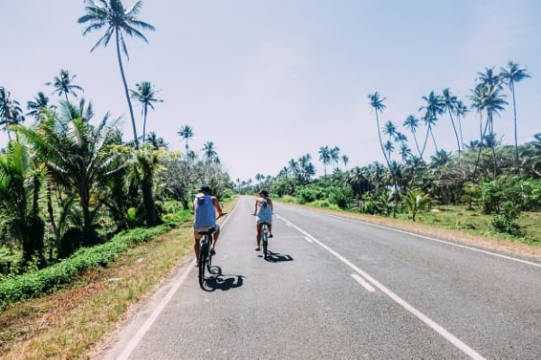 Riding down the Hibiscus Highway