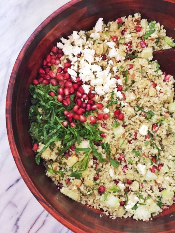Moroccan Quinoa Salad - January Wellness