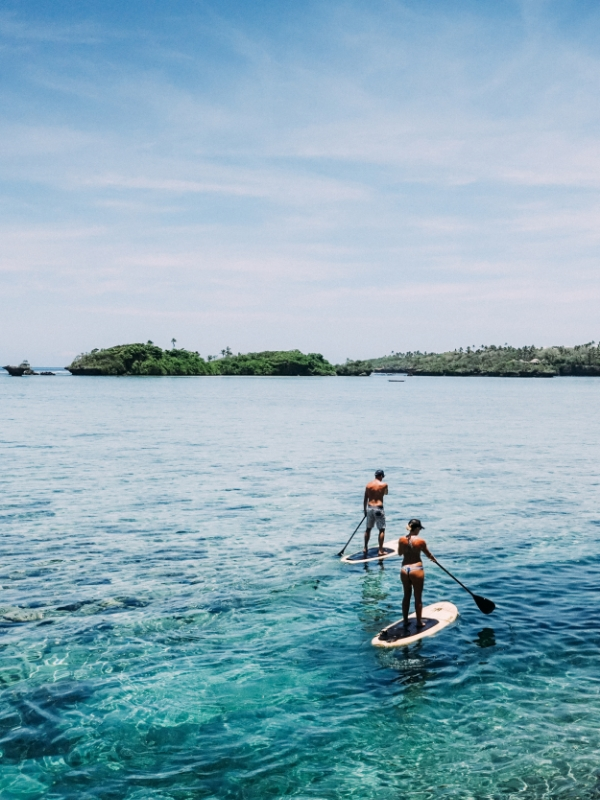 Stand Up Paddle in Fiji