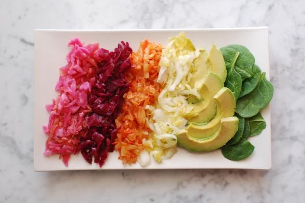 healthy homemade fermented vegetables
