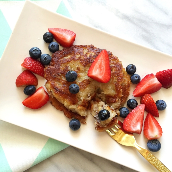Coco'nana Pancakes (Paleo, gluten free, grain free, AIP)