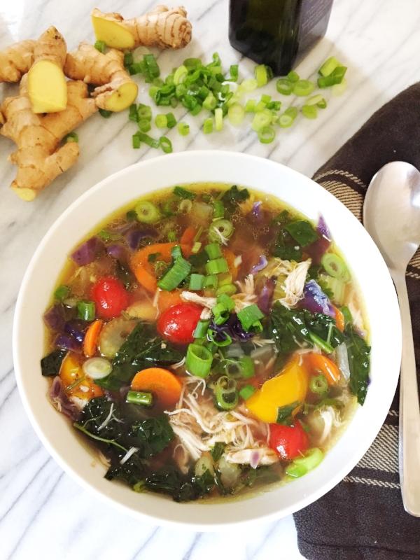 Bone Broth Healing Soup