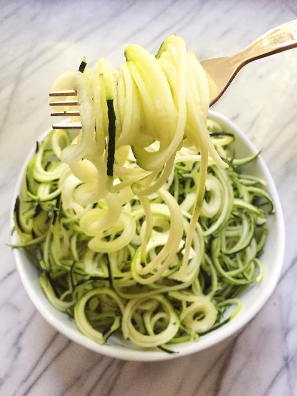 Zucchini Noodles - Zoodles!