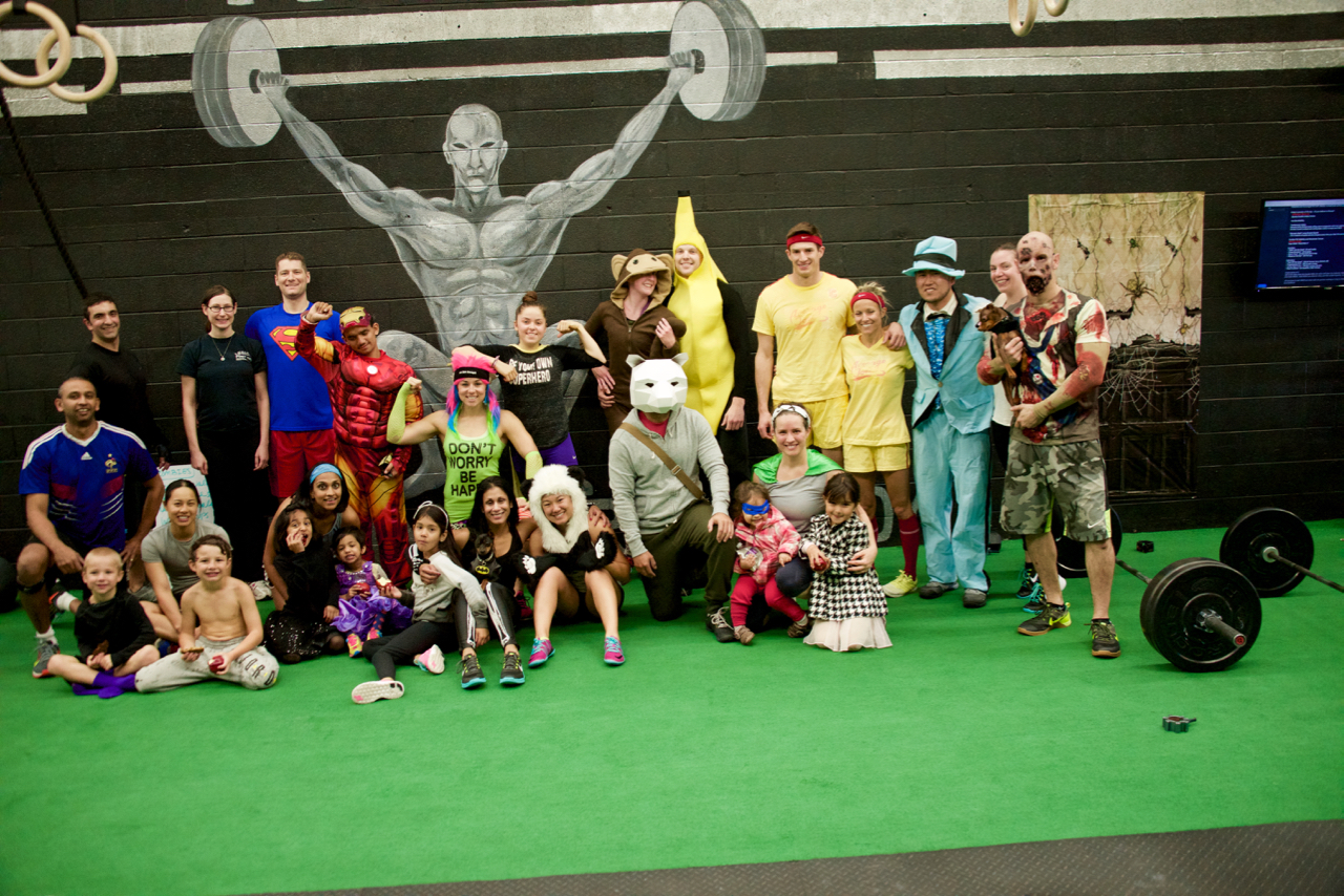 Thanks to everyone who hit our Halloween WOD today. Was a brilliant atmosphere at the gym and some fun costumes!!!