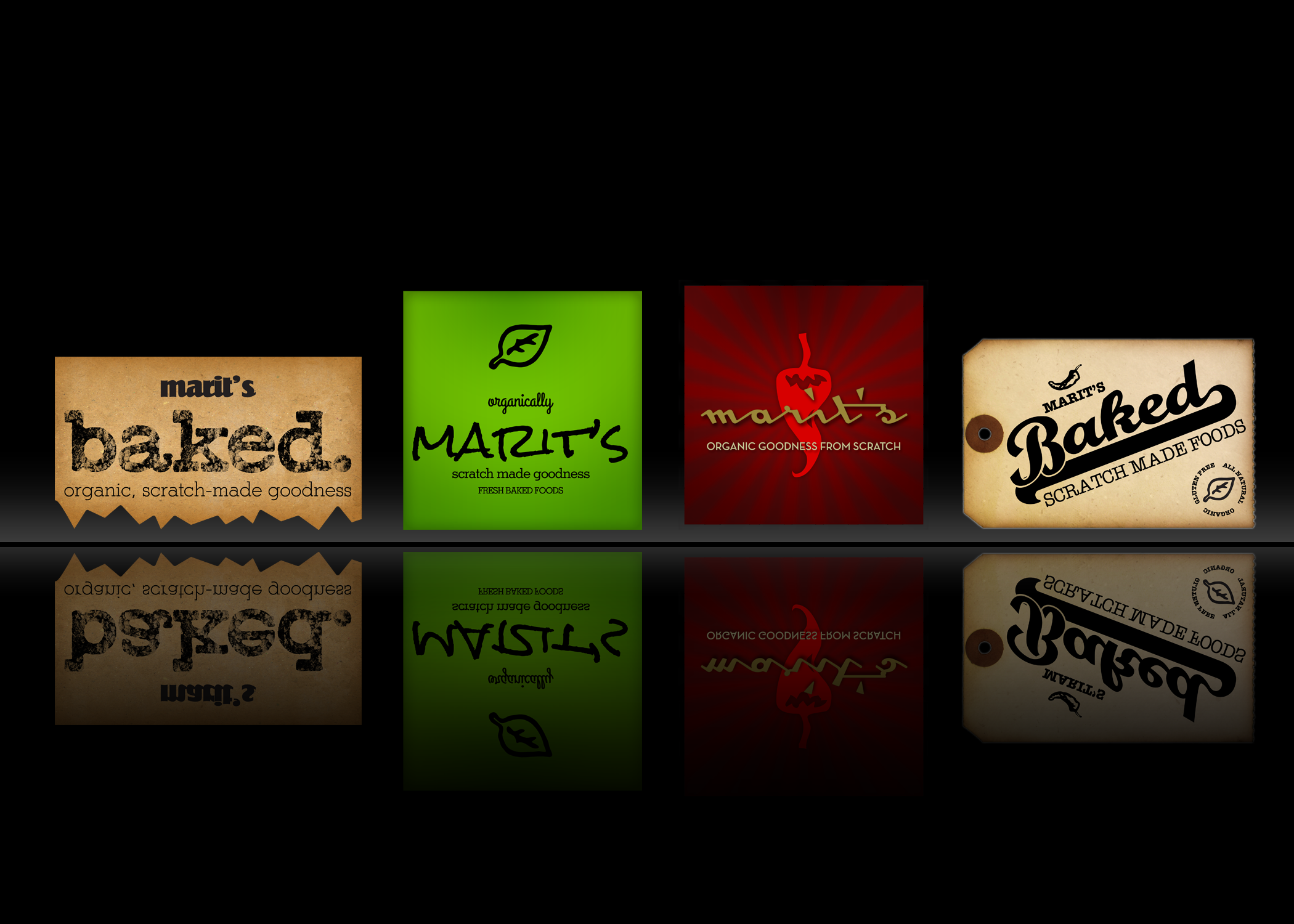 Concept Choices for Marit's Baked Gourmet Foods