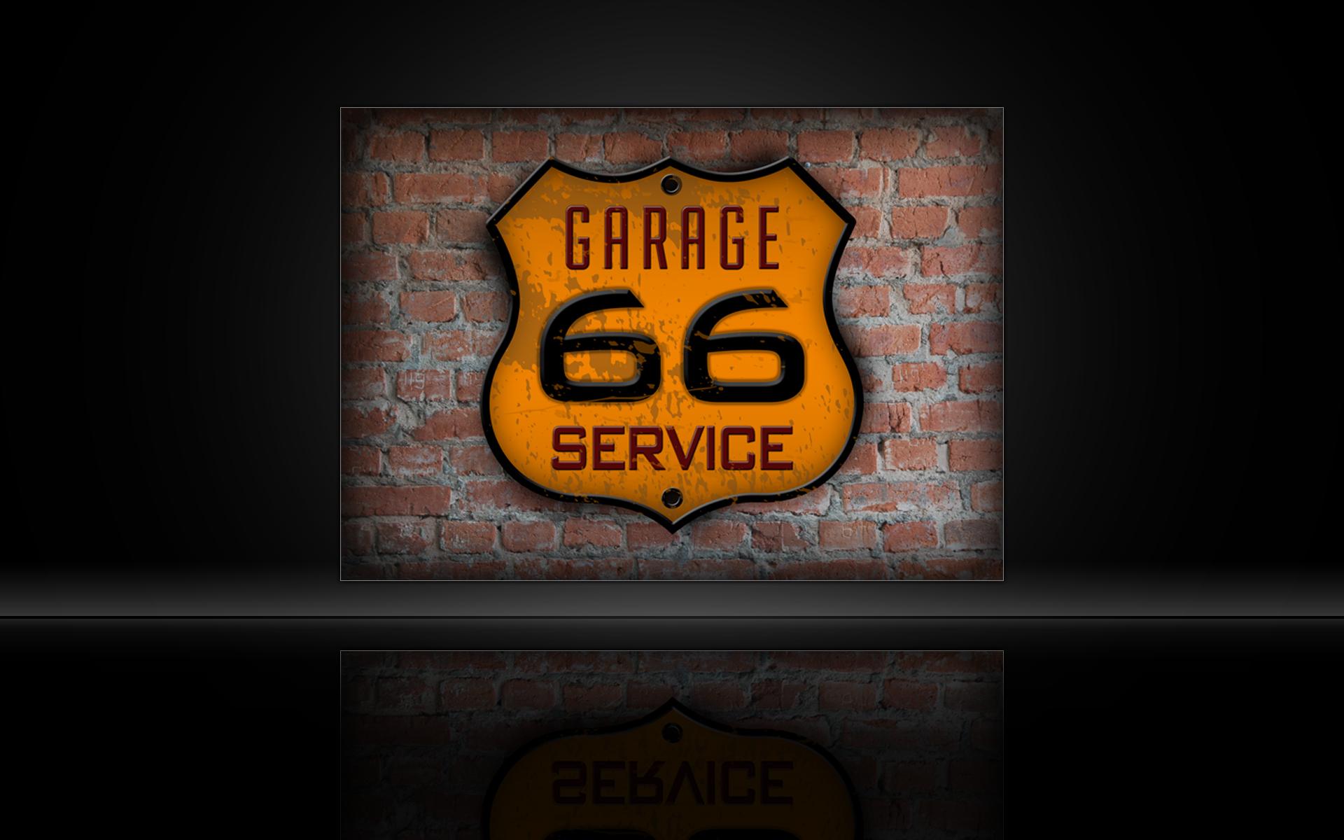Garage 66 Service Logo