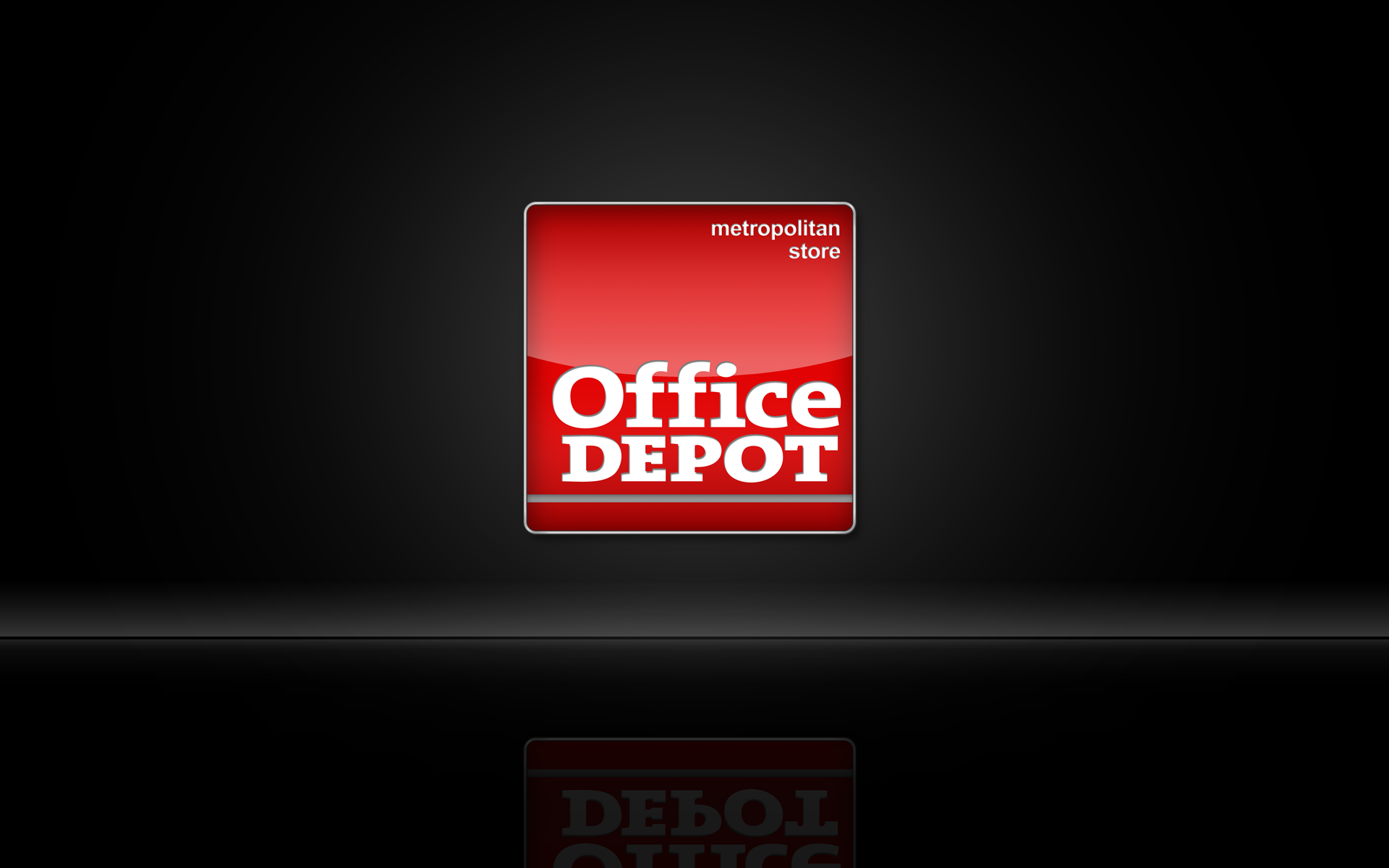 New Office Depot Cloisonne Style Icon by Graham Hnedak