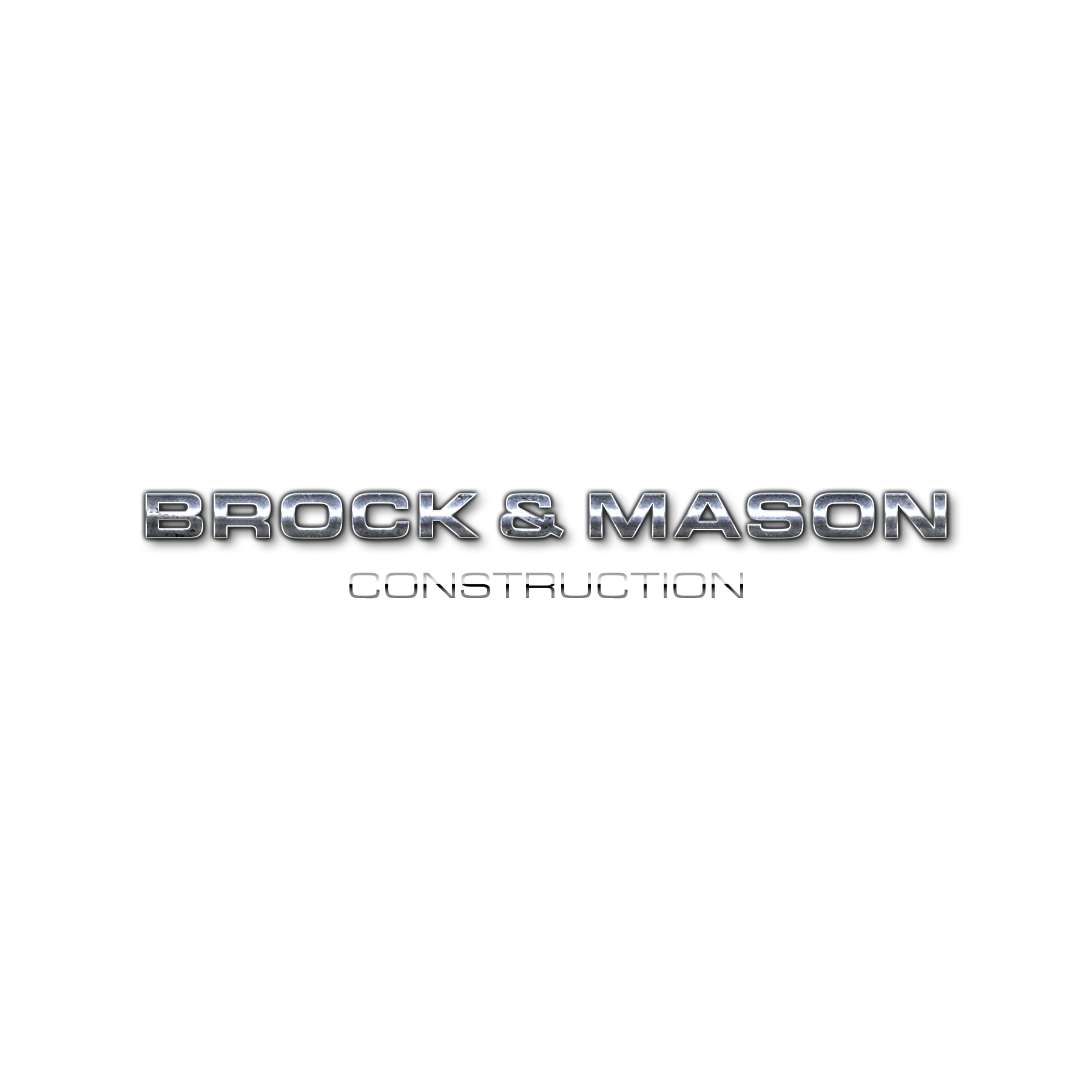Euro Block Font Option Budget Logo Express Metallic Grunge Brock and Mason Construction white by Brand G Creative 07 OCTOBER 2017.jpg