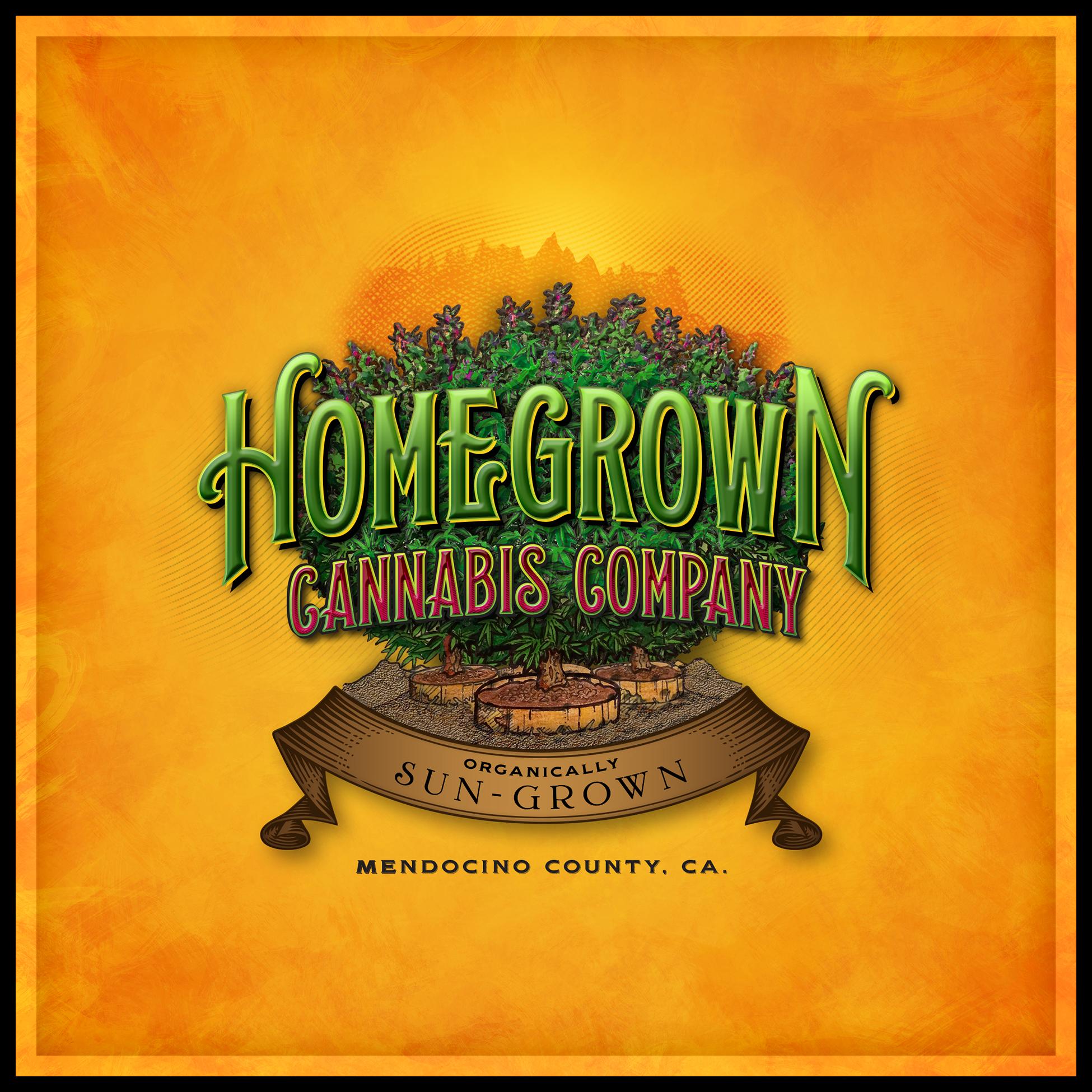 Homegrown Cannabis Company Logo
