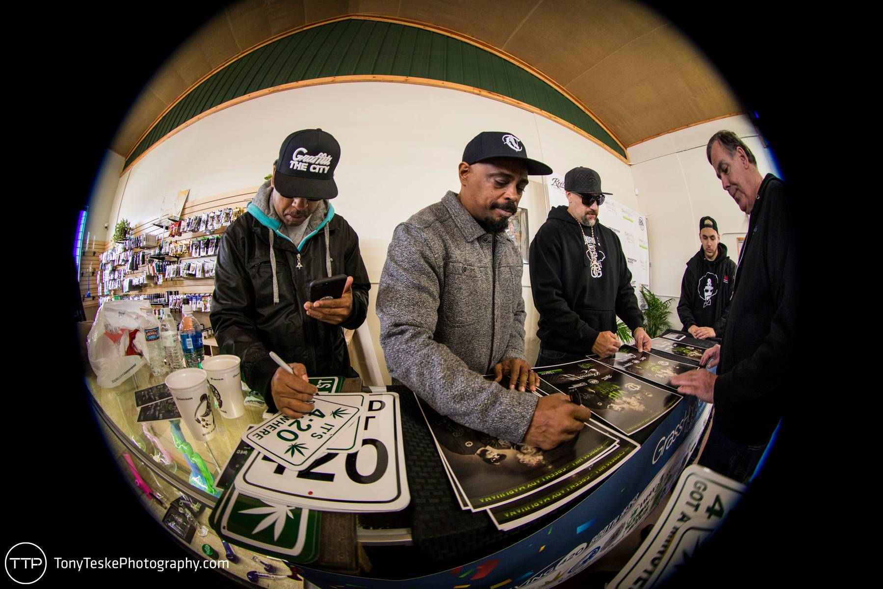 Cypress Hill Poster Signing