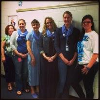 My Team in Blue