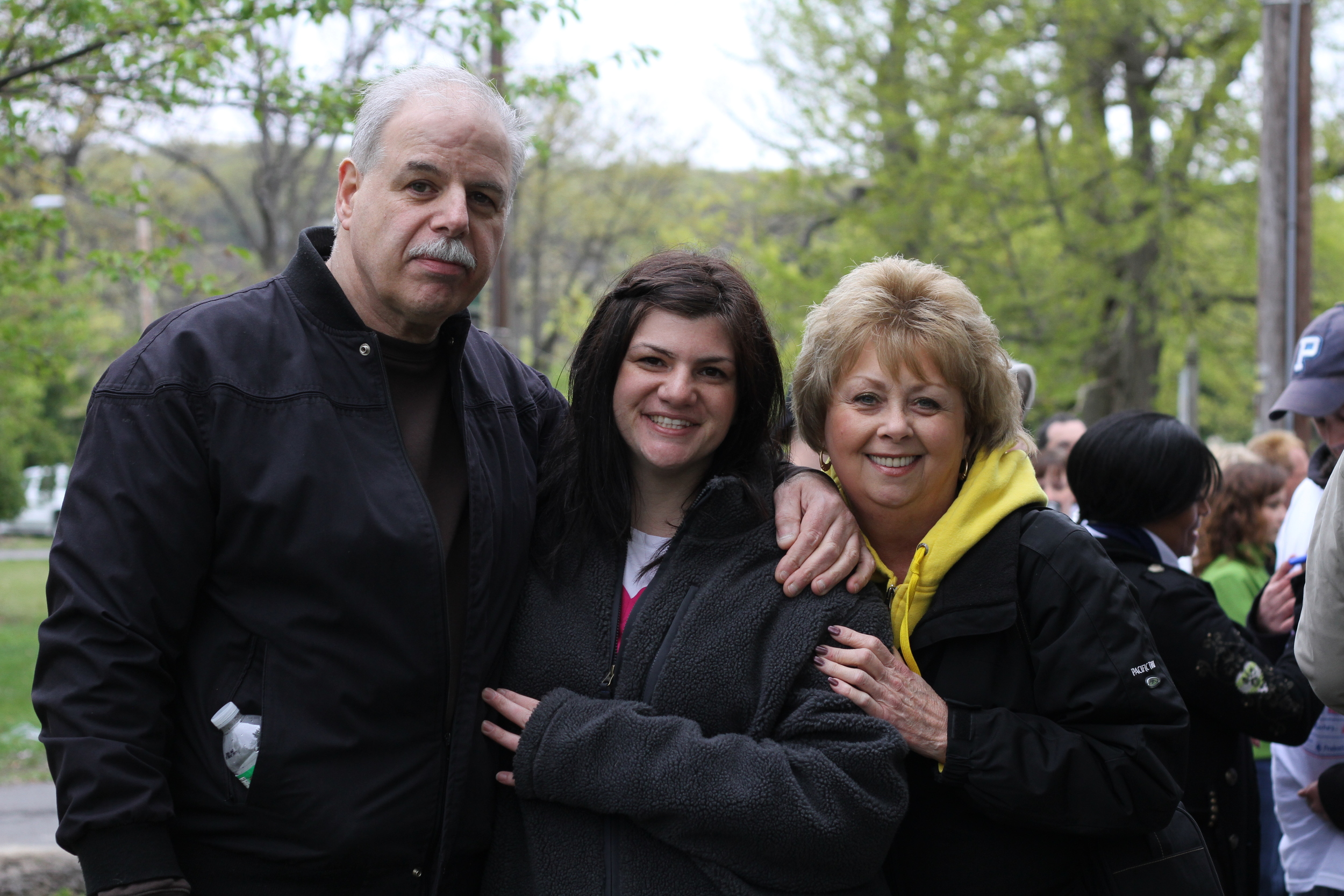 Thank you Mom and Dad for an incredible day. I'm so very thankful for you and your constant support. <3