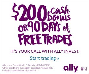 $200 Cash bonus or90 Days of Commission-Free Trades -