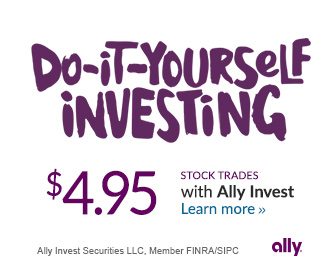 $4.95 Stocks Trade - Do-It-Yourself Investing with Ally Investand Possible $200 cash bonus.
