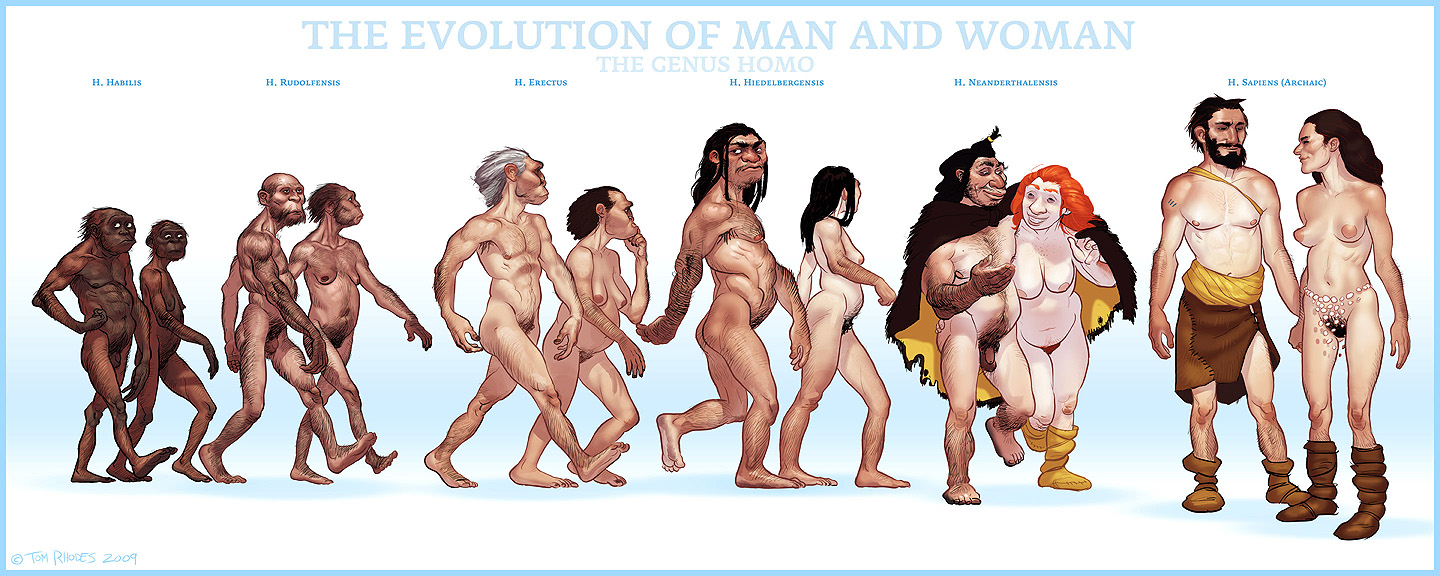 The ascent of man and woman