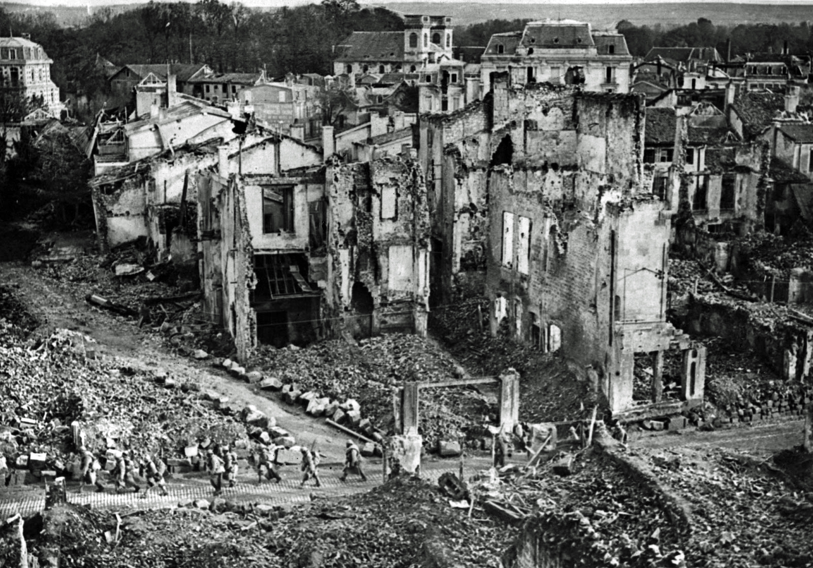 World War One destruction
