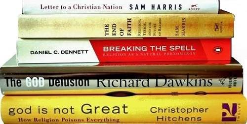 """Perhaps in a """"Battle"""" of ideas it would be helpful to understand the ideas. What are the """"New Atheists"""" saying? Are they advocating violence in any way?"""