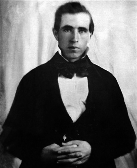 The First Photo of Joseph Smith - the founder of the Mormon Church.