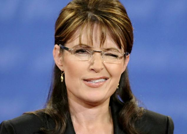 Sarah Palin's charming wink.
