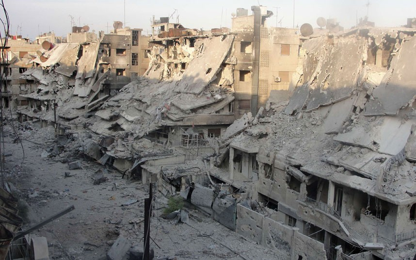 Syrian cities today.