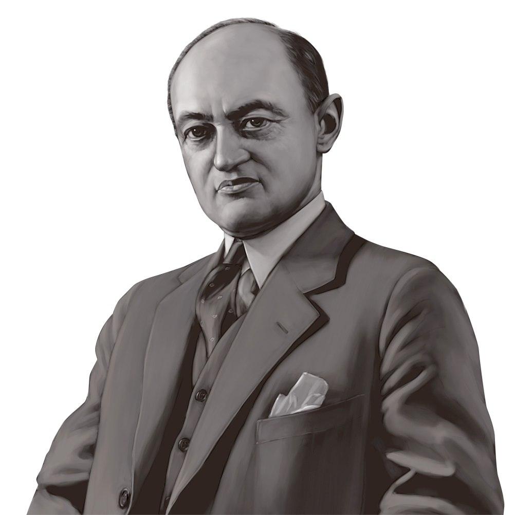 Joseph Alois Schumpeter, Austrian-born American economist and political scientist.