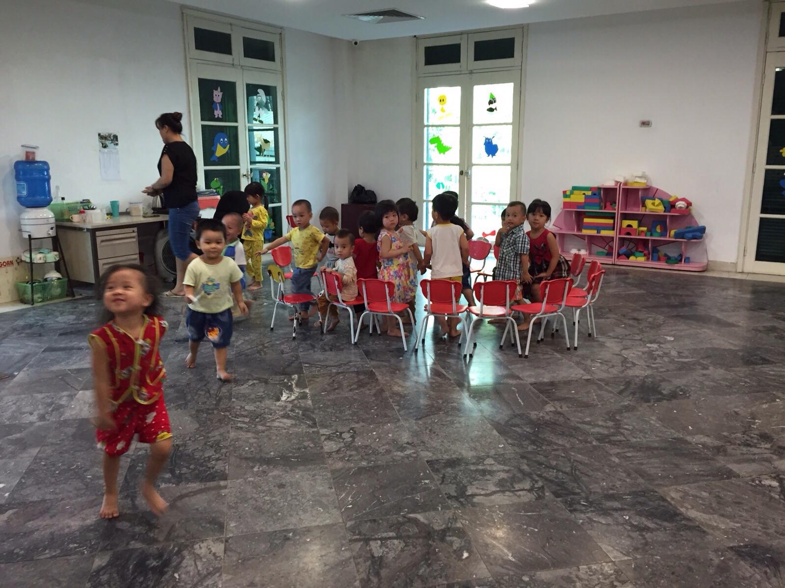 Het kinderdagverblijf