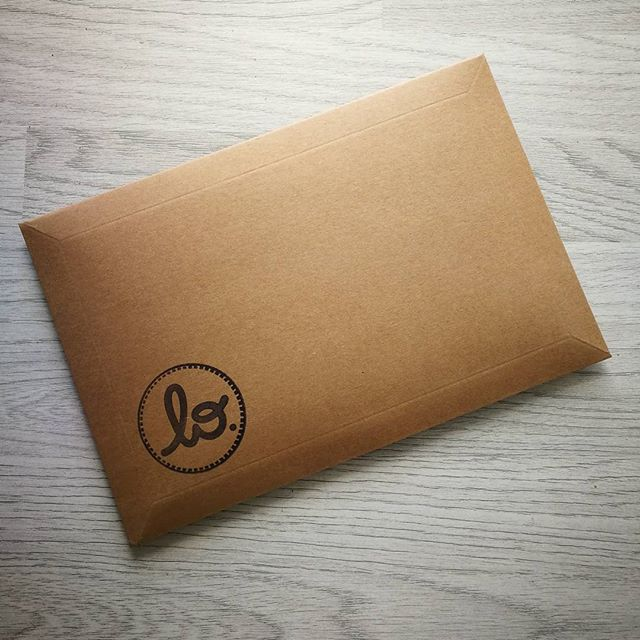 Love for the packaging. . . . . #packaging #design #simple #effective #love #fashion #joy #design #post #postofficerun #brand #art #teeinanenvelope #scotland #scotstreetstyle #style #glasgow #clothing