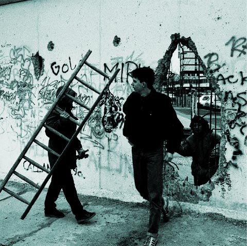 fig.4 Berlin wall