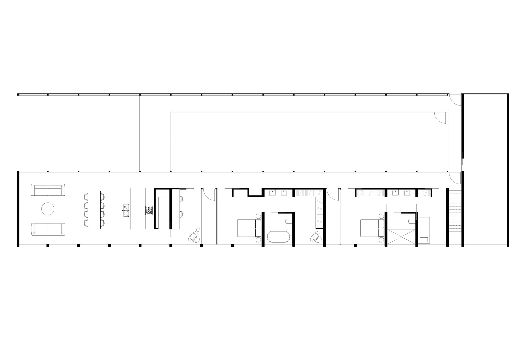 Bondi Beach House Competition | Floor Plan